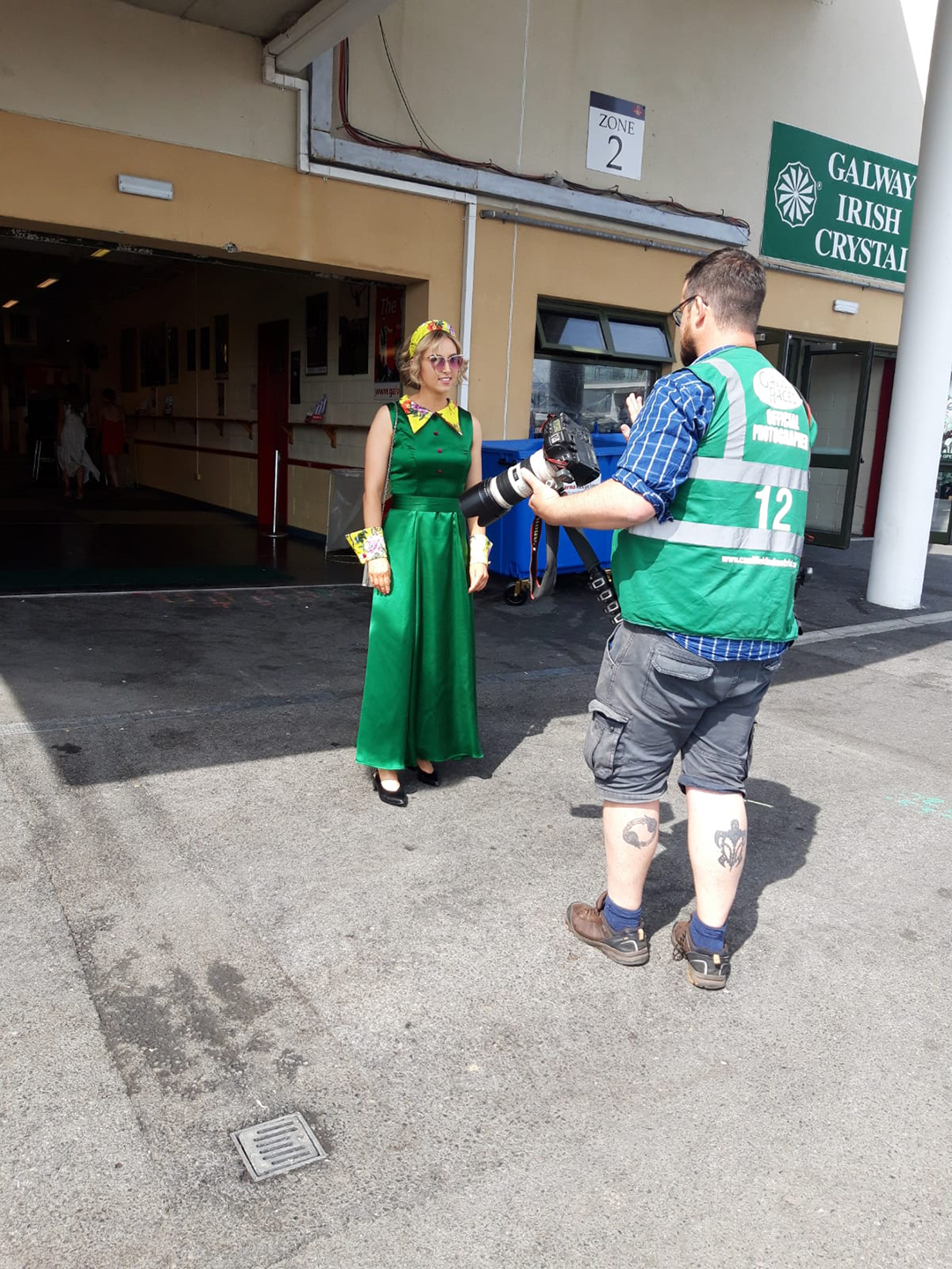 Social Media Brave - Galway Races | Zobi Fashion Design Consultancy