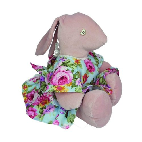 Pippa Rabbit and scrunchie | Zobi Fashion Design Consultancy