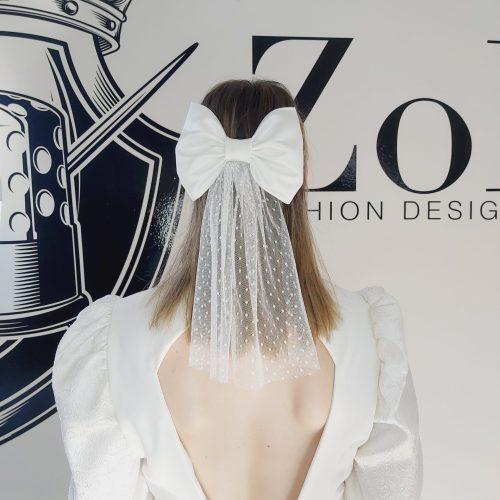 White Bow & Tail | Zobi Fashion Design Consultancy