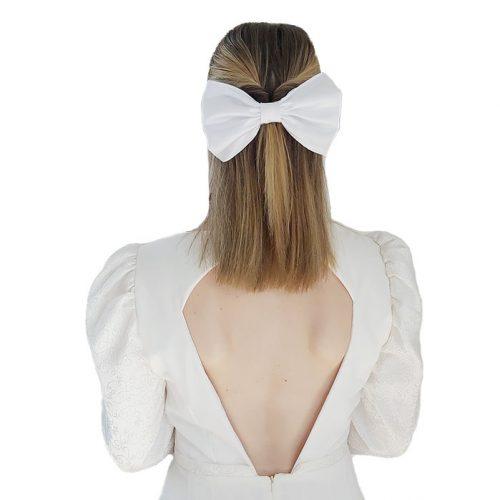 White Bow | Zobi Fashion Design Consultancy